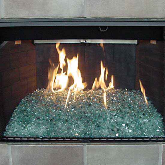picture 4 of fireplace with fire crystals