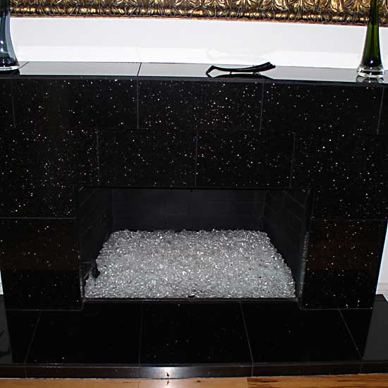 picture 7 of fireplace with fire crystals