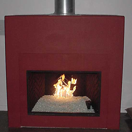 picture 9 of fireplace with fire crystals