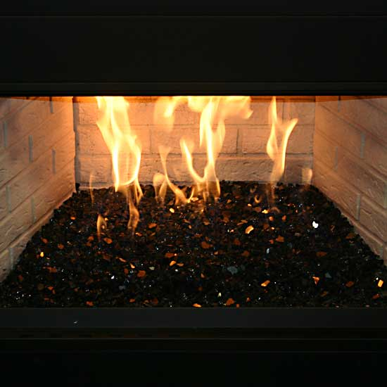 picture 11 of fireplace with fire crystals