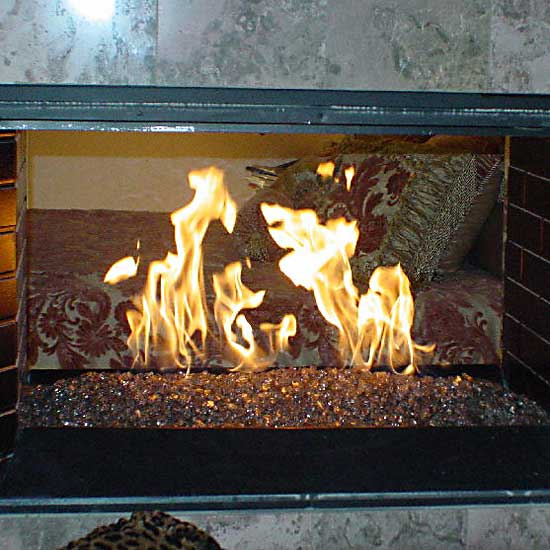 picture 14 of fireplace with fire crystals