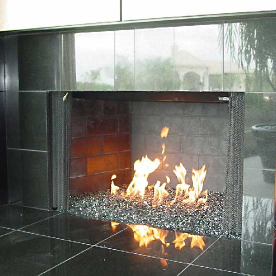 picture 22 of fireplace with fire crystals