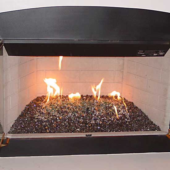 picture 26 of fireplace with fire crystals