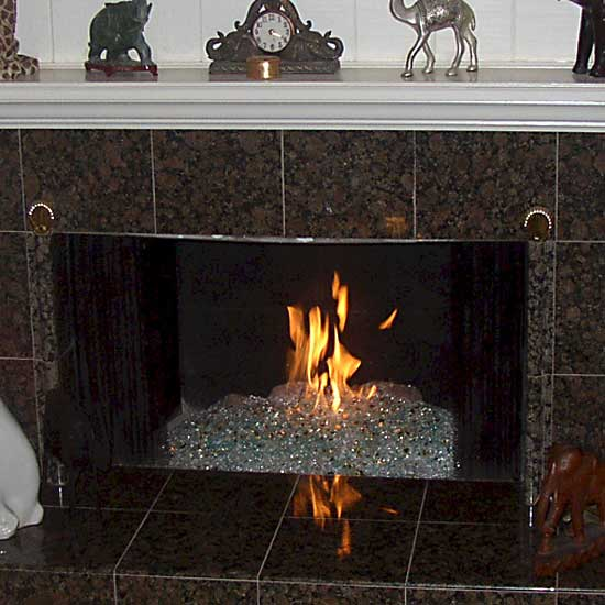 picture 30 of fireplace with fire crystals