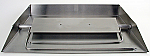 Propane Fireplace Burner (7 Sizes) - Stainless Steel with Ember Booster