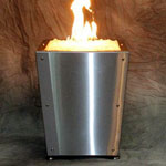 15 Inch Fully Automated Fire Column - Flamecraft Collection
