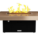 40 Inch Legless Fire Table - FlameCrest Collection