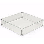 Glass Wind Shield (for square fire pits)